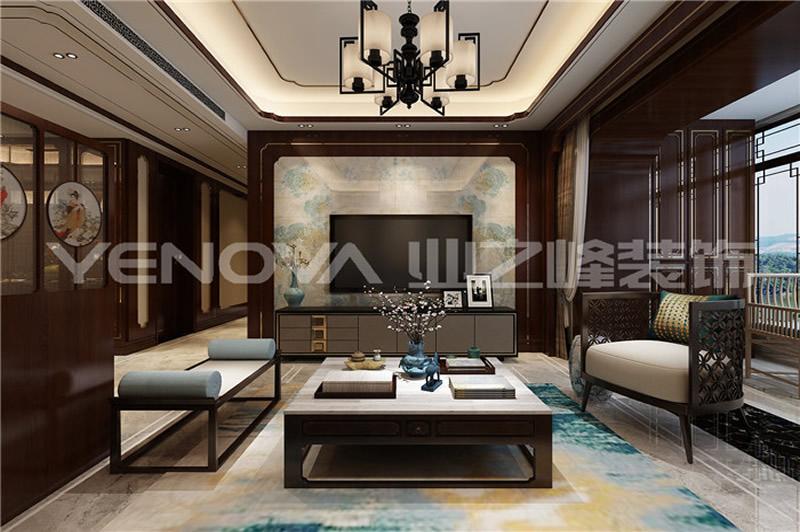 邓州财富世家130平中式风格