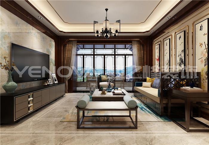 邓州财富世家中式风格