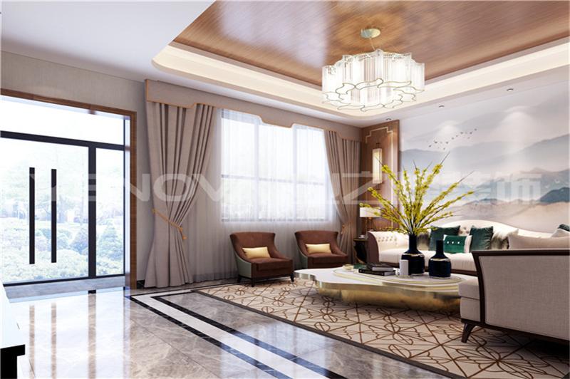 唐河别墅新中式风格