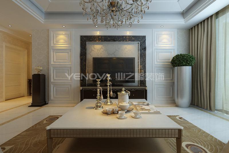 桂花城140平欧式风格