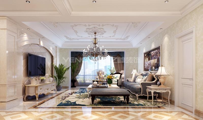 天麒家园120平欧式风格