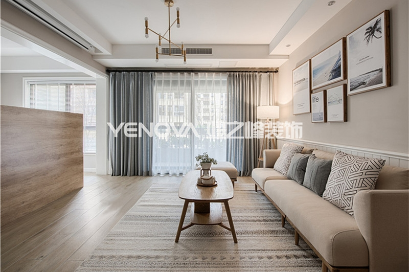 博士公寓129平北欧风格