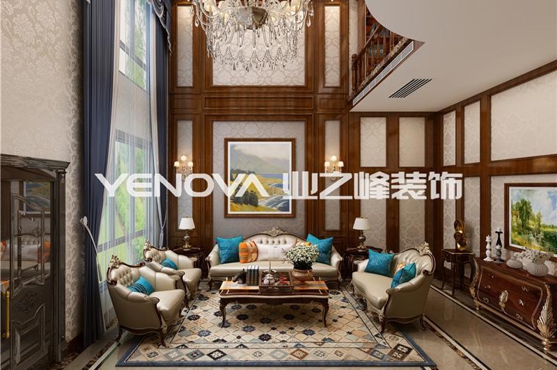 阳光锦绣家园300平欧式古典风格