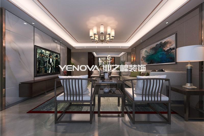 中信国安城158平中式风格