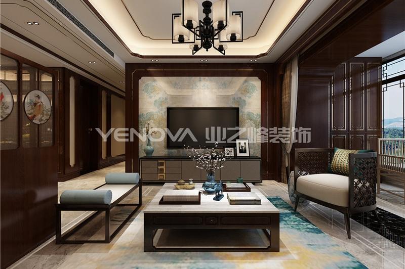 邓州财富世家140㎡中式风格