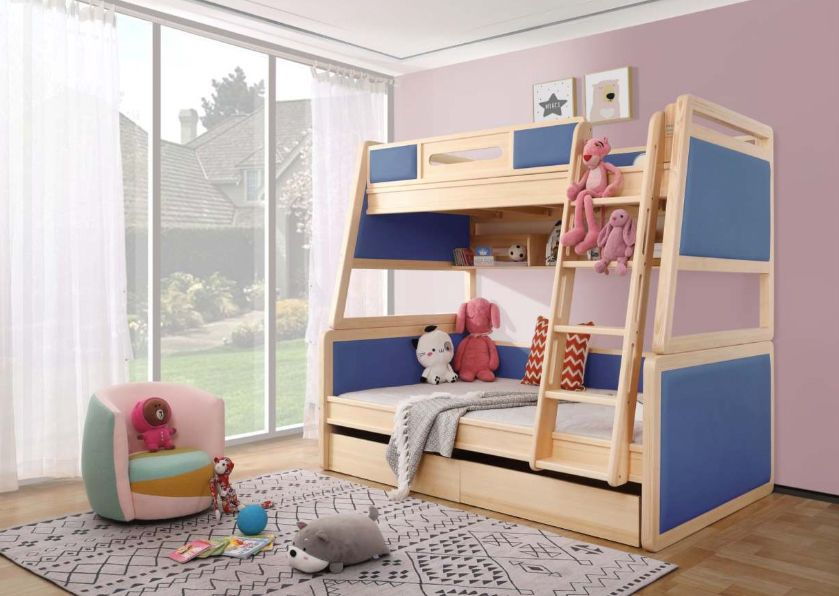 儿童房装修,高低床应该这样挑,美观又实用!