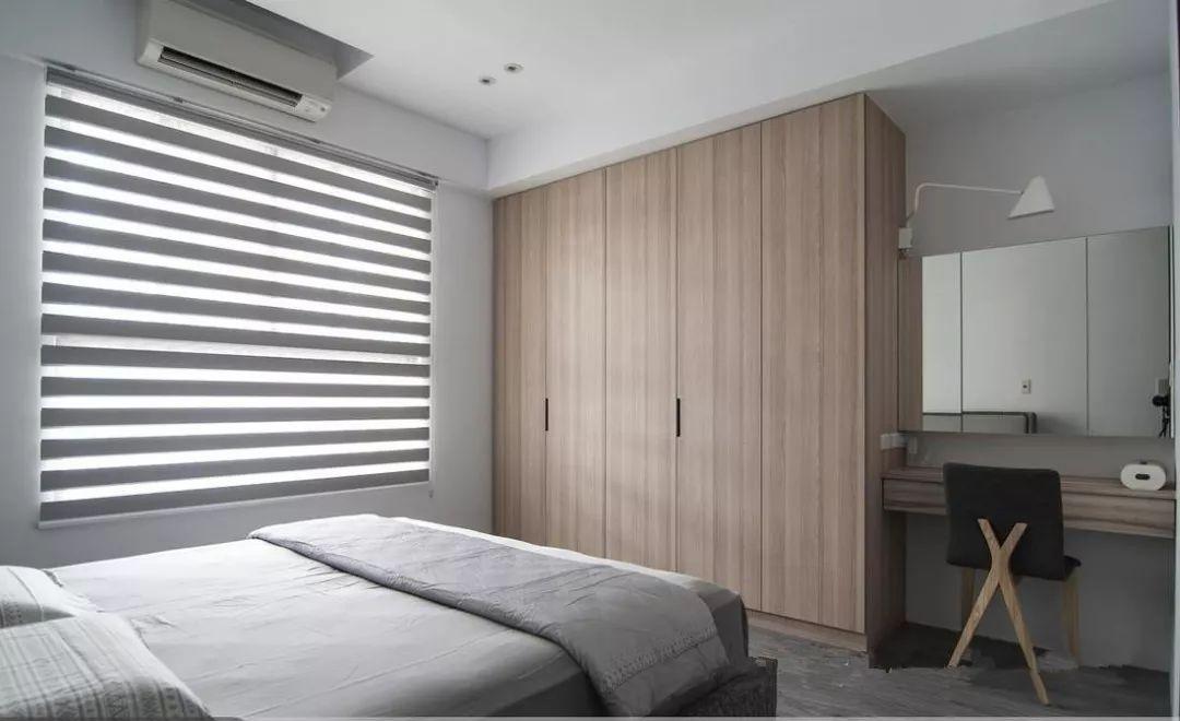 卧室应该怎样选择衣柜?