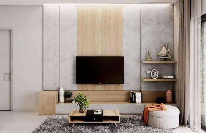 电视柜现在不流行这么装了,很多人都喜欢这些新潮的装法