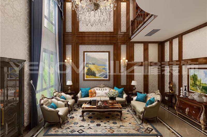 镇平别墅300平新中式风格